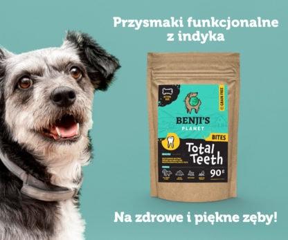 Przysmaki funkcjonalne z indyka dla psów na zdrowe zęby